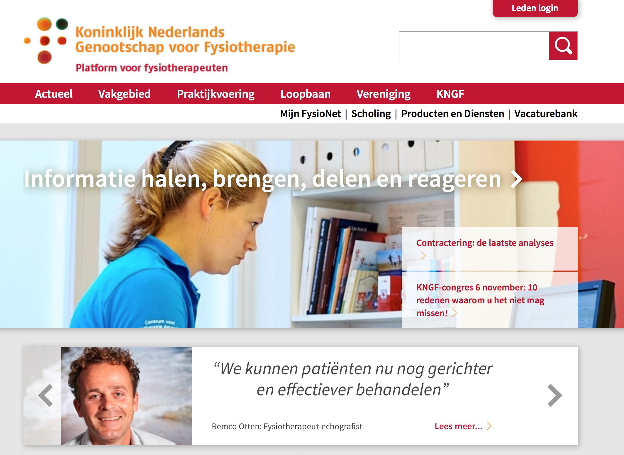 199b6481704 GOED Medisch Centrum op homepage KNGF - Goed Medisch Centrum